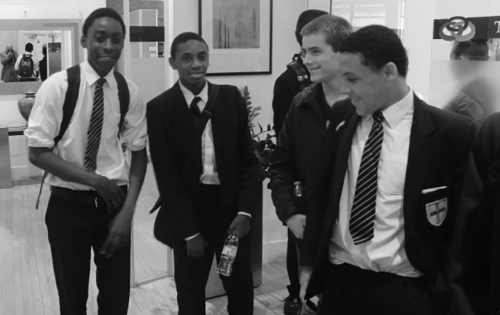 twist helps young people in schools
